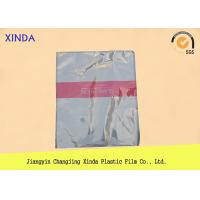 Quality Breathable die cut handle flat bottom clear bags with a air hole perfect quality wholesale