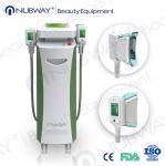 Quality RF & Ultrasonic & Cryolipolysis & Vacuum 4 in 1 Multifunction 5 handles fat-freezing wholesale