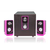 Quality Wired Type Pc Multimedia Speakers , 2.1 Laptop Speakers Light Weight wholesale