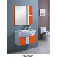 Quality hanging cabinet / PVC bathroom vanity / wall cabinet / white color for bathroom 80 X49/cm wholesale