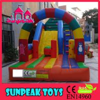 Quality SL-1666 Fashion Slide , Rainbow Slide , Inflatable Slide wholesale