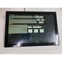 Quality Flush Wall Installation Smart Controller 10 Inch Slim Android POE Power Multi Touch Screen with NFC/LED Light Option wholesale