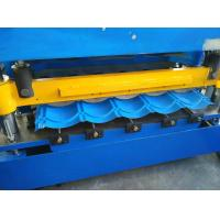 Quality Hydraulic Cutting Roof Glazed Tile Roll Forming Machine PLC Automatic Control wholesale