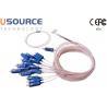 Quality Compatible Fiber Optic Splitter GPON EPON SMF-28 Fiber Optic Beam Splitter for sale