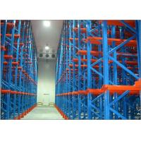China Multi Tier Drive In Racking System Anti Rust Colled Roll Steel Q235b Material on sale