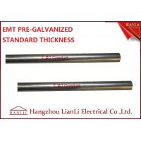 """Quality 1-1/2"""" Steel Electrical Metallic Conduit with Pre Galvanized Finish 3.05 Meters wholesale"""
