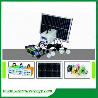 China High quality solar lighting kits price, 10w portable solar panel kits high performance for hot selling on sale