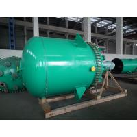 Cheap ASME CERTIFICATED Glass Lined Vessels , -19~200℃ Temperature Carbon Steel Reactor for sale