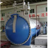 Cheap Automatic Glass Industrial Autoclave with hydraulic pressure opening door for sale