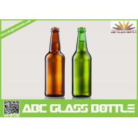 Quality Fancy Summer Promotion With Screw Top Beer Glass Bottles,Amber and Green beer glass bottle wholesale