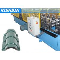 Quality Ridge Cap Roof Panel Flashing Metal Sheet Roll Forming Machine with G550 Yield Strength wholesale
