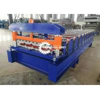 Quality Steel Trapezodial Profile Roll Forming Machine Corrugated Roof Sheet Making wholesale