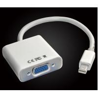 China Mini DisplayPort Display Port MDP Male to VGA Cable Adapter Converter For Mac PC on sale