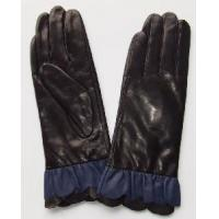 Quality Lady′s Fashion Leather Gloves with Fur (CF2569) wholesale