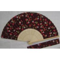 China promotion fan with customizing your logo on fan faecher on sale