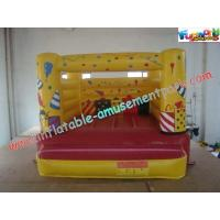 China Indoor Mini Inflatable Bounce Houses For Kids , Inflatable Game Rentals on sale