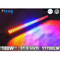 China 31.5 Inch 180W Multi Color Strobe RGB Led Light Bar Wireless Remote Control on sale
