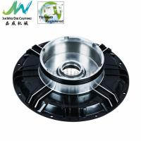 Quality Black Powder Coated Machined Aluminum Parts , Electric Motorbike Hub Alu Die Casting Cover wholesale