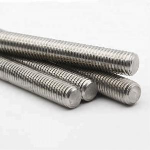 Quality DIN 976 Flexible Threaded Rod Size M3-M52 Custom Length No Pollution wholesale