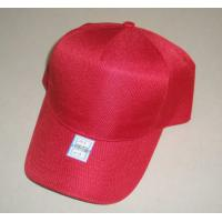 China 5 panels cap/baseball cap/promotional cap in 100% polyester twill on sale