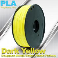 Quality Diameter 1.75mm / 3.0mm 1.0KG / roll PLA Filament For 3F Printer In Stock wholesale