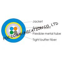 Cheap Multicore Optical Fiber Cable Armored Flexible and Suitable For Long Distance for sale