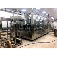 China Touch Screen Pet Bottle Filling Machine With PLC Automatic Control Technology on sale