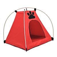 Quality oxford fabric foldable water proof dog bed tent wholesale