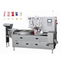 China 3P Pastry Packaging Machine / Candy Sweets Pillow Pouch Packaging Machinery on sale