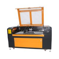 Quality Low Cost 1300*90mm Steel Wood Acrylic Co2 Laser Cutting Machine with Double Heads wholesale