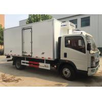 Quality Low Temperature Refrigerator Truck / LHD 4X2 Refrigerated Food Truck wholesale