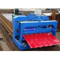 Waterproof Glazed Tile Roll Forming Machine 13 Rows 75mm Principal Axis Dia