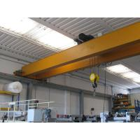 Quality 10 Ton Electric Overhead Crane Light Weight Construction And Heavy Weight Strength wholesale