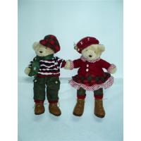 Quality 2012 Customized Personalised Christmas Gifts of Lovely Bears Couples for Children wholesale