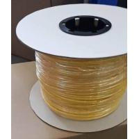 Quality Flexible Yellow  PVC Tube For Electrical Wire Protective, Electric Insulated  PVC Tube For Outside Insulation Protection wholesale