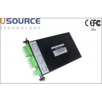 Quality 1x4 1x8 High Reliability CWDM Mux Demux 1270-1610nm for Access Network wholesale