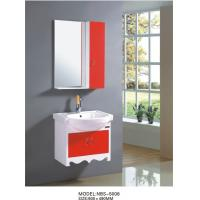 Cheap 60 X49/cm PVC hanging cabinet / wall cabinet / bathroom cabinet / white color for sale