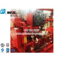 China Red FM Approval 300 Hp Diesel Water Pump Engine Used In The Firefighting on sale