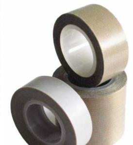 Cheap Industrial Teflon Conveyor Belt Ptef Backed Metal / Detectable Teflon Tape for sale