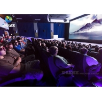 Quality Specific Effects 3d Cartoon Movie , 3d Cinema System Equipment wholesale