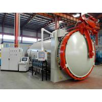 horizontal hot press tank autoclave with inflatable seals and circulation fan and accurate temperature controller