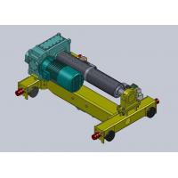 Quality Double Girder Electric Trolley Hoist , Material Lifting 0.5 ~15m/min wholesale