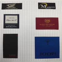 China high quality cheap direct factory wholesale hot sale new custom satin woven labels on sale