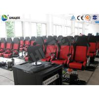 Cheap Motion Chair 5D Movie Theater Equipment With Special Environmental Effects for sale