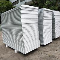 Quality eps prefabricated sandwich panel house wall board 950-50-0.376mm with film both side wholesale