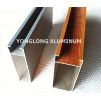 China Multifunctional Curtain Wall Aluminium Profiles For Decoration Rectangle Shape on sale