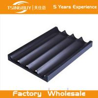 Factory high quality bread baking aluminum sheet-deep baking tray-non-stick french baguettes baking tray