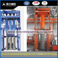 China concrete pipe machine on sale