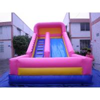 Quality Inflatable Water Slides, Giant Beach Slide with Wooden Stairs, Hippo Slide wholesale