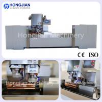 Quality New Design Double Head Copper Grinding Machine with Servo Motor for Rotogravure Cylinder Grinding Finishing Machine wholesale